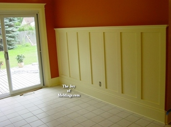 How to Install Tall WAINSCOTING-100 for About $10.33/ft ... Wainscoting How To Install on install ceiling fan, install coffered ceiling, install sink, install soffit, install drywall, install home, install water softener,