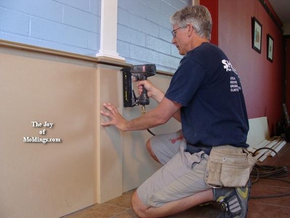 how to install diy pilaster column pedestal box