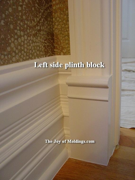 victorian plinth block