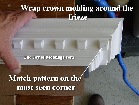 how to install easy foam crown molding