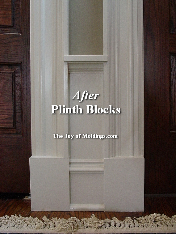 how to install plinth blocks