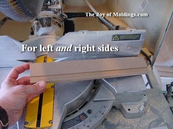 how to install door moldings