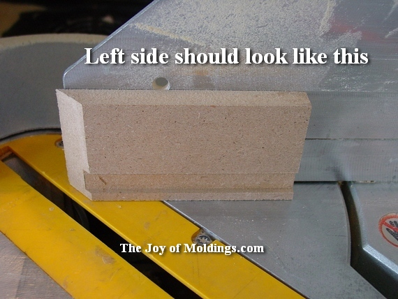 how to miter moldings