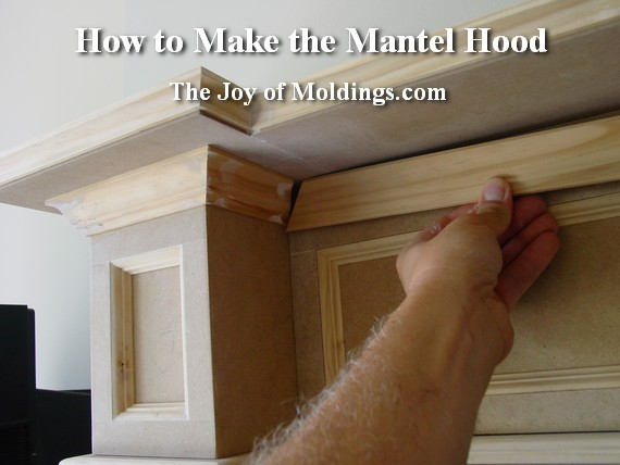 how to build an mdf diy fireplace mantel