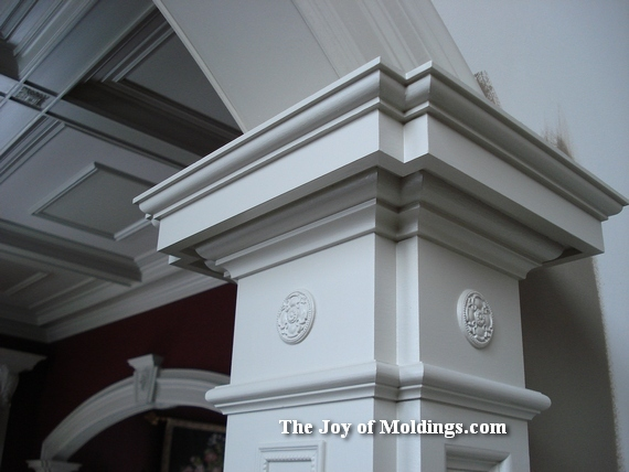 how to install archway moldings