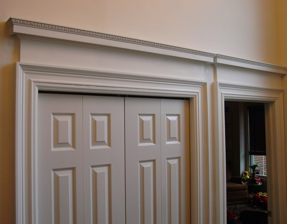 how to build an overdoor or door header