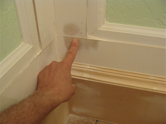 how to install bathroom moldings