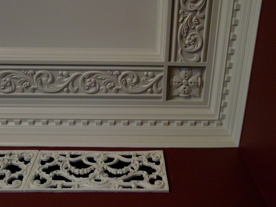 large dentil crown molding