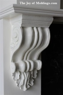 resin fireplace corbel