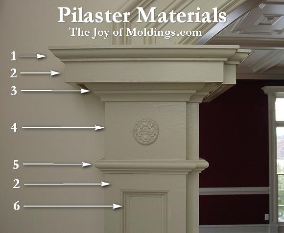 pilaster moldings & millwork