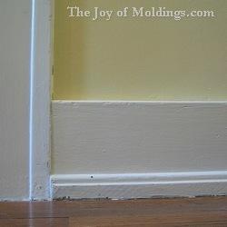 baseboard molding