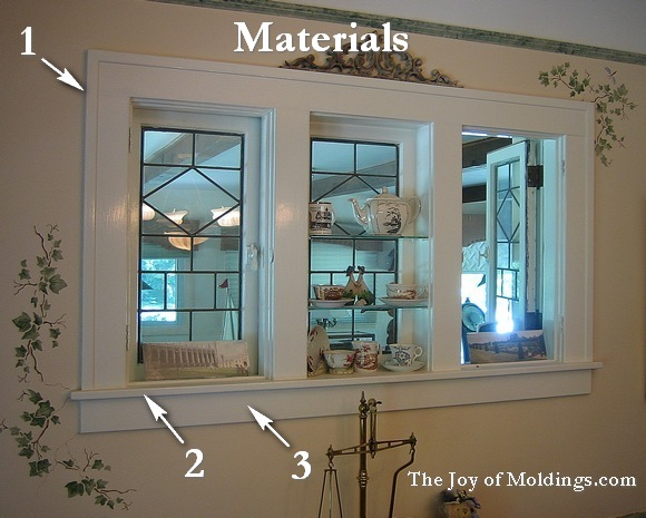 Make Window Trim 101 For About 29 00 The Joy Of Moldings