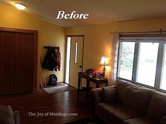 living room moldings