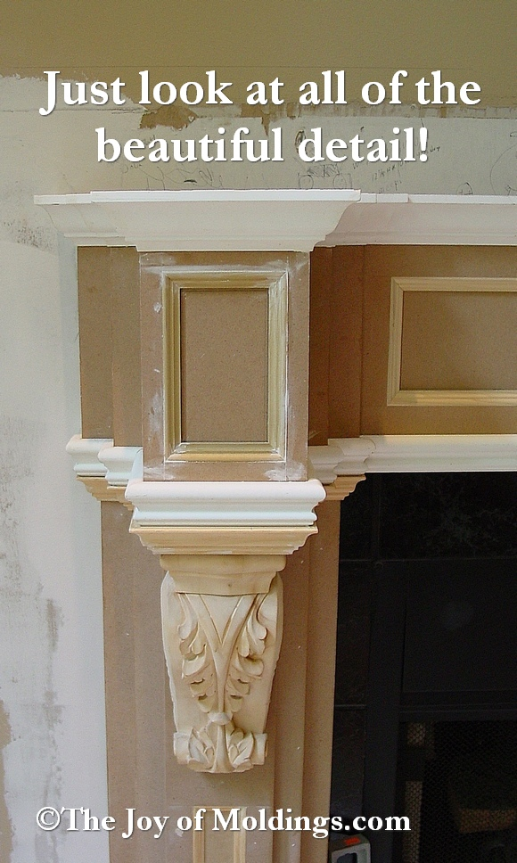 fireplace corbel