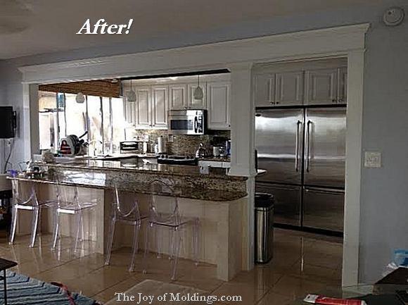 kitchen moldings