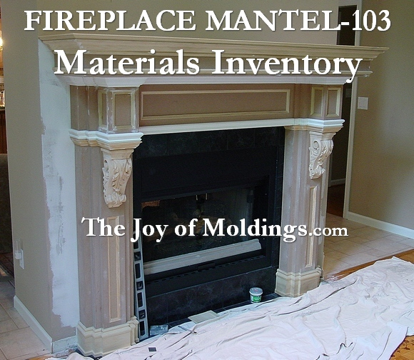 fireplace moldings