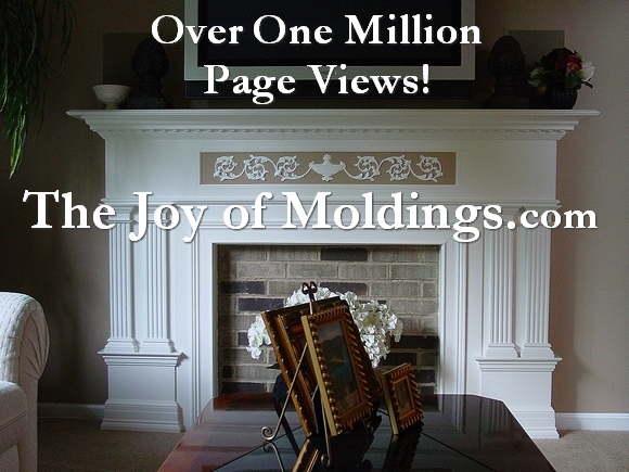 decorate with moldings