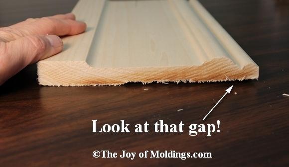 poplar baseboard