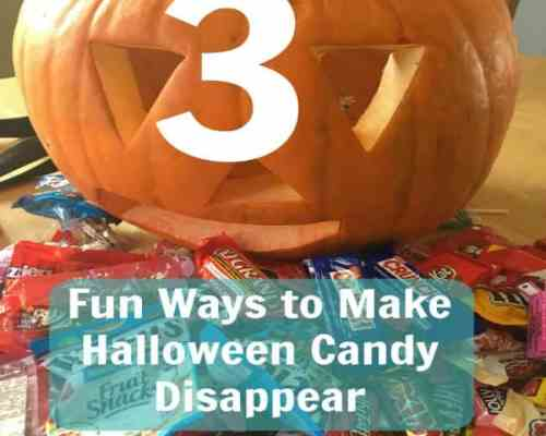 3 ways to get rid of Halloween candy without tears