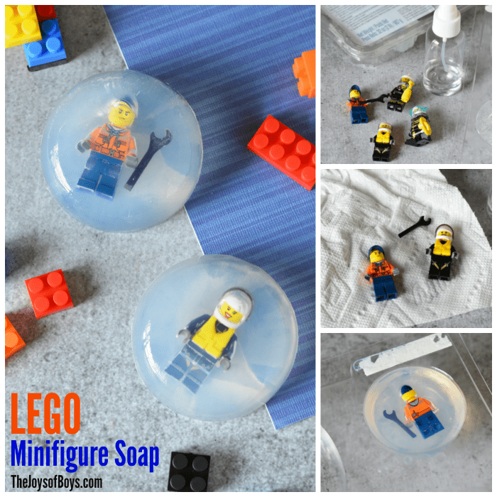 How to Make LEGO Minifigure Soap