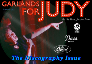 Garlands for Judy 2015 Discography Issue