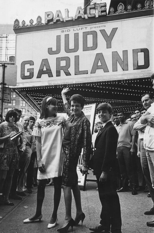 Judy Garland at the Palace Theater in New York 1967