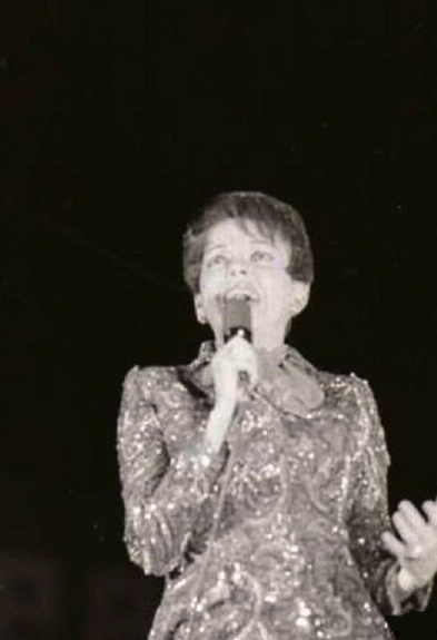 Judy Garland at the Boston Common