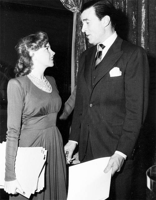 Judy Garland and Walter Pidgeon