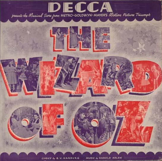 The Wizard of Oz Decca 78rpm set