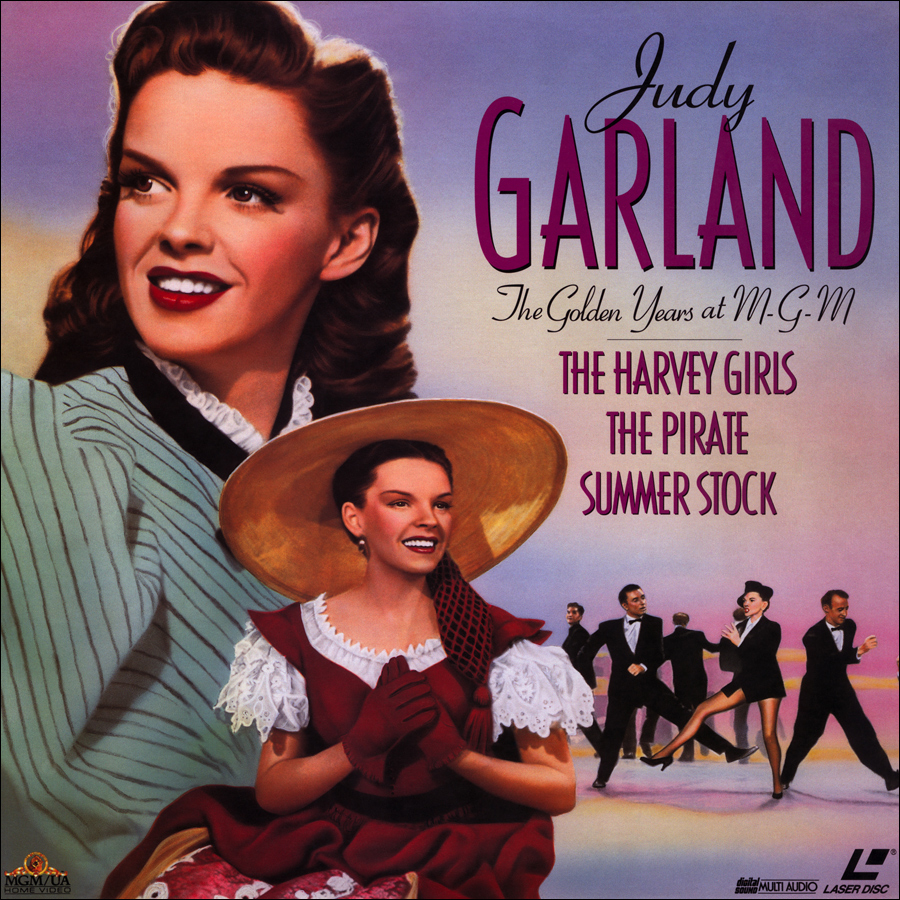 Judy Garland The Golden Years at MGM laserdisc