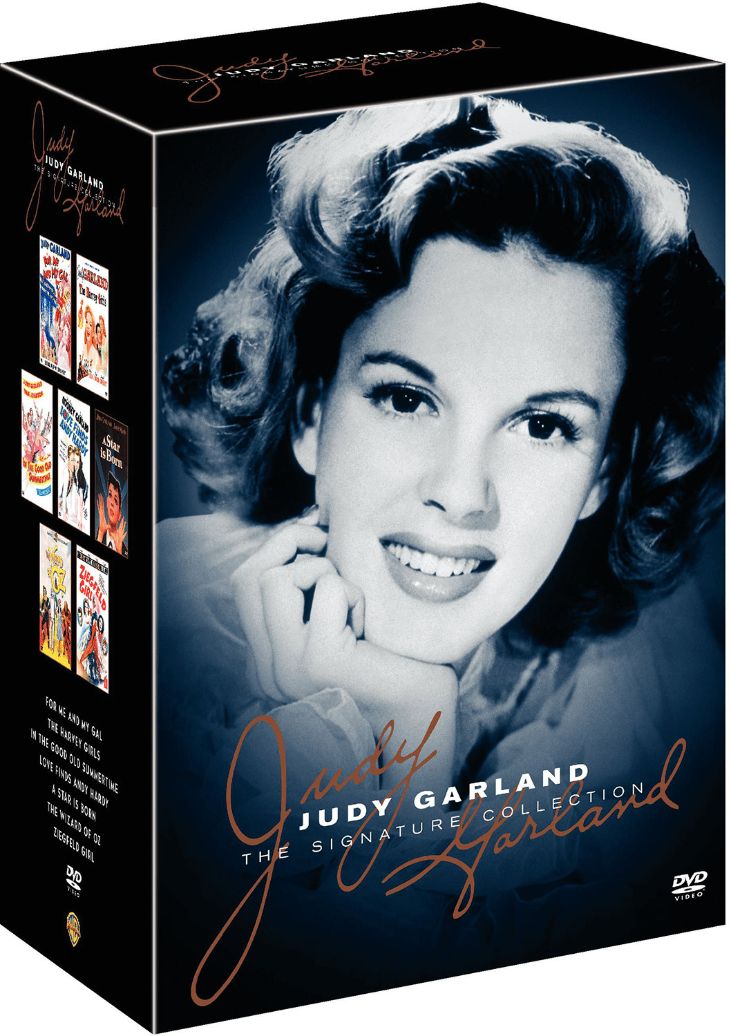 The Judy Garland Signature Collection DVD boxed set