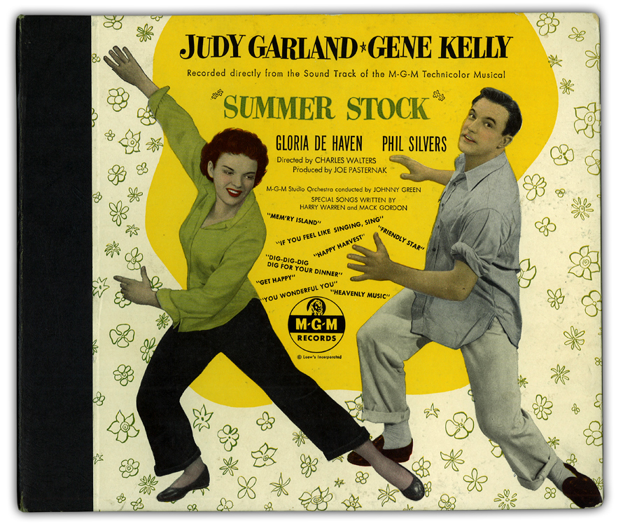 Summer Stock original MGM Records 78 album