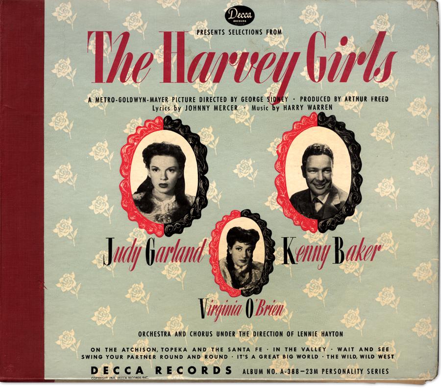 The Harvey Girls Decca 78 album