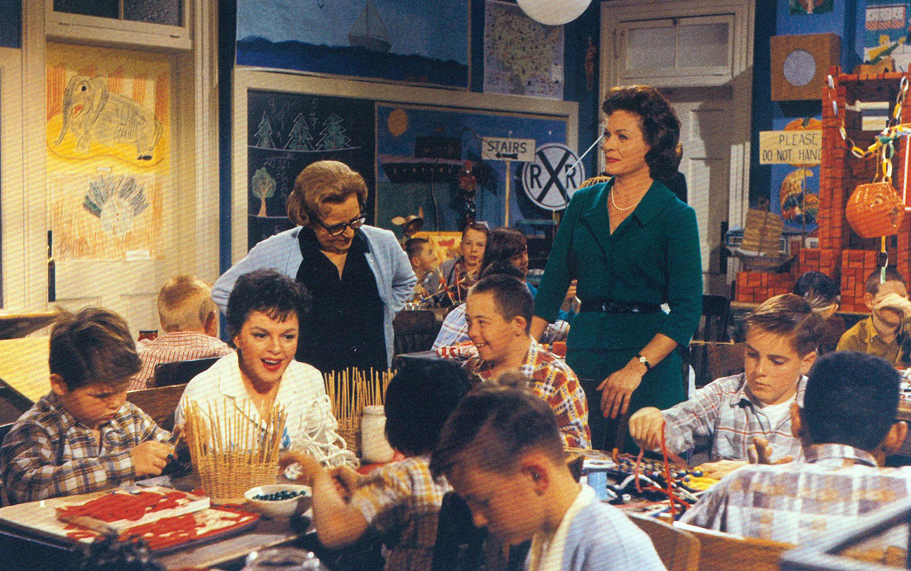 """Judy Garland in """"A Child Is Waiting"""""""