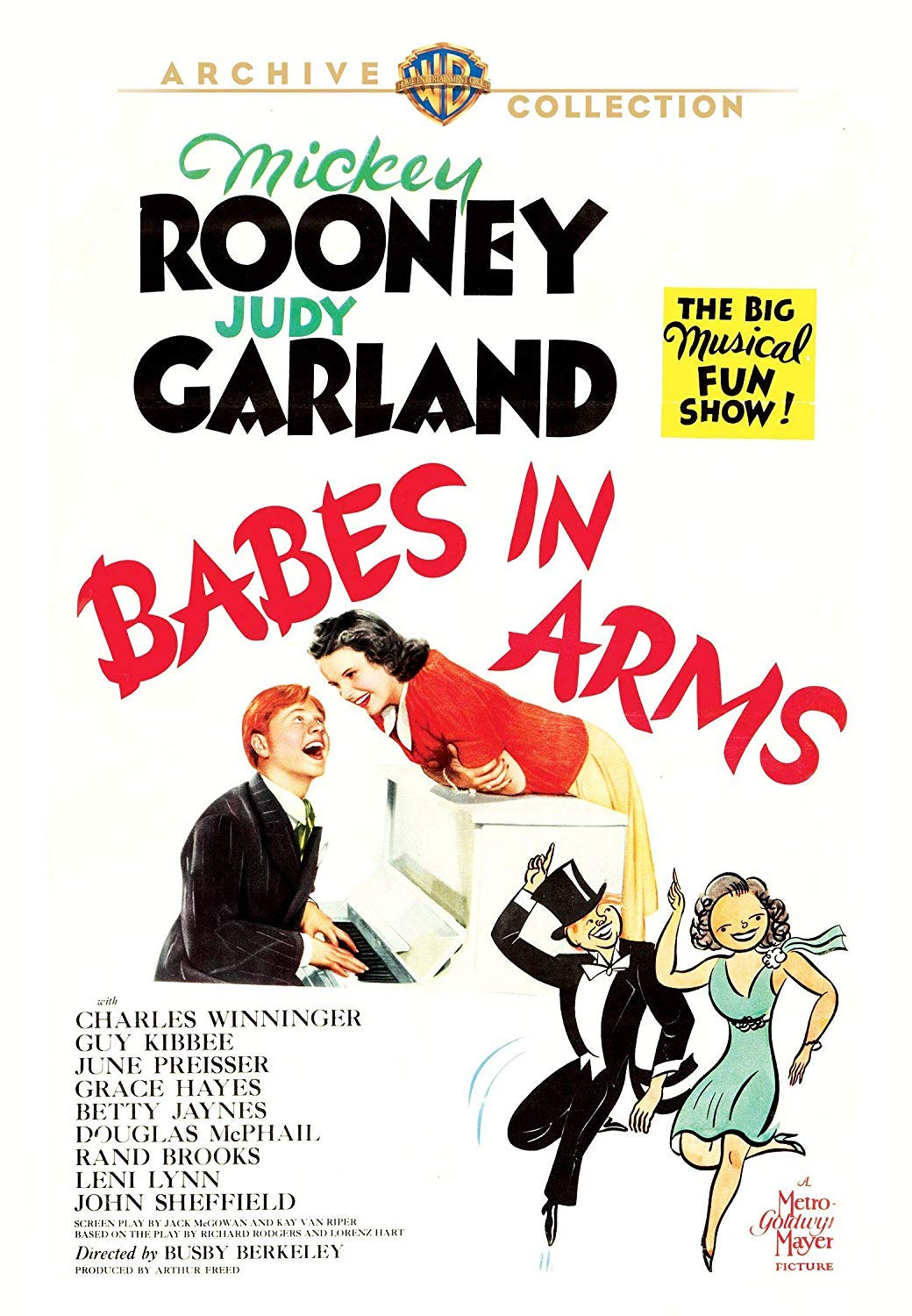 """Babes in Arms"" Warner Archive DVD October 2, 2018"