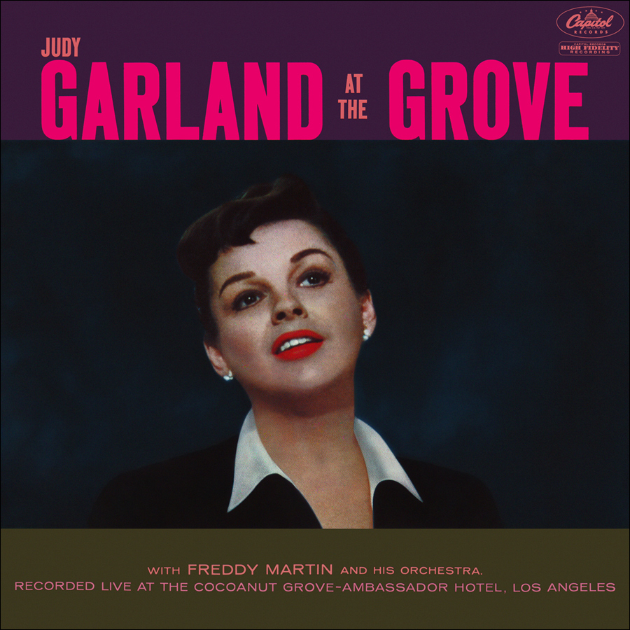 """Judy Garland at the Grove"" LP"