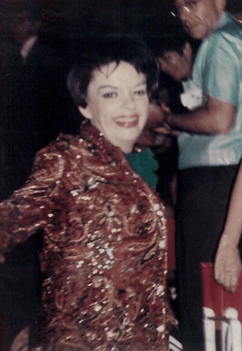 Judy Garland at the Camden County Music Fair 1967