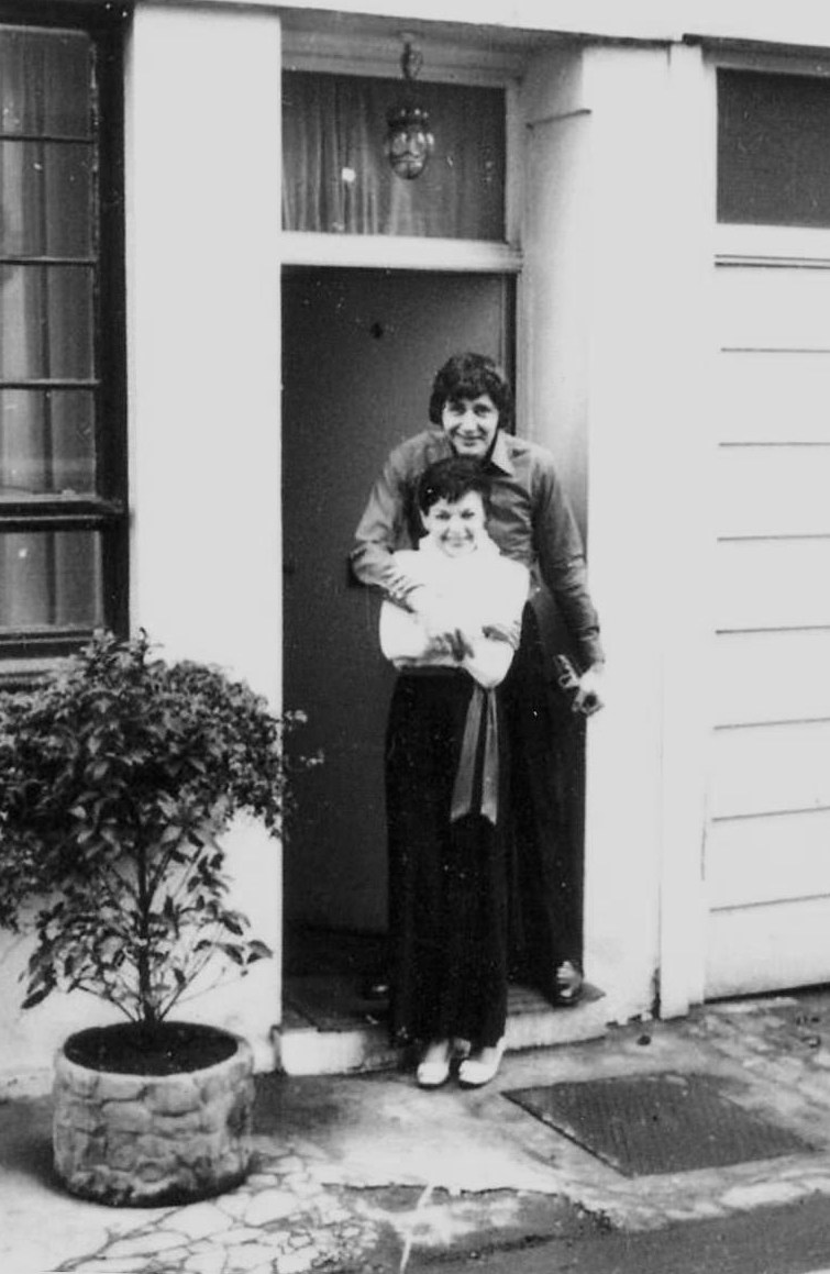 Judy Garland and Mickey Deans 1969