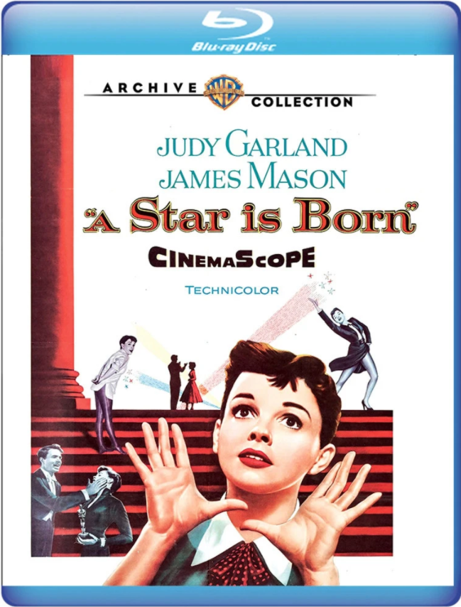 A Star Is Born Blu-ray from the Warner Archive May 14, 2019