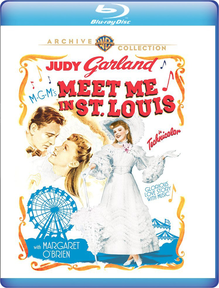 Meet Me In St. Louis 2018 Warner Archive Blu-ray