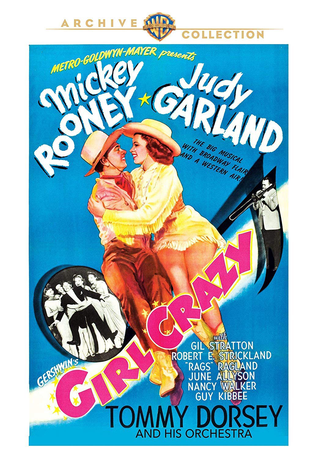 Girl Crazy DVD from the Warner Archive