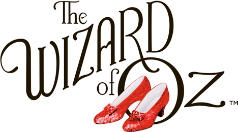 The Wizard of Oz 75th Anniversary Logo w/Slippers