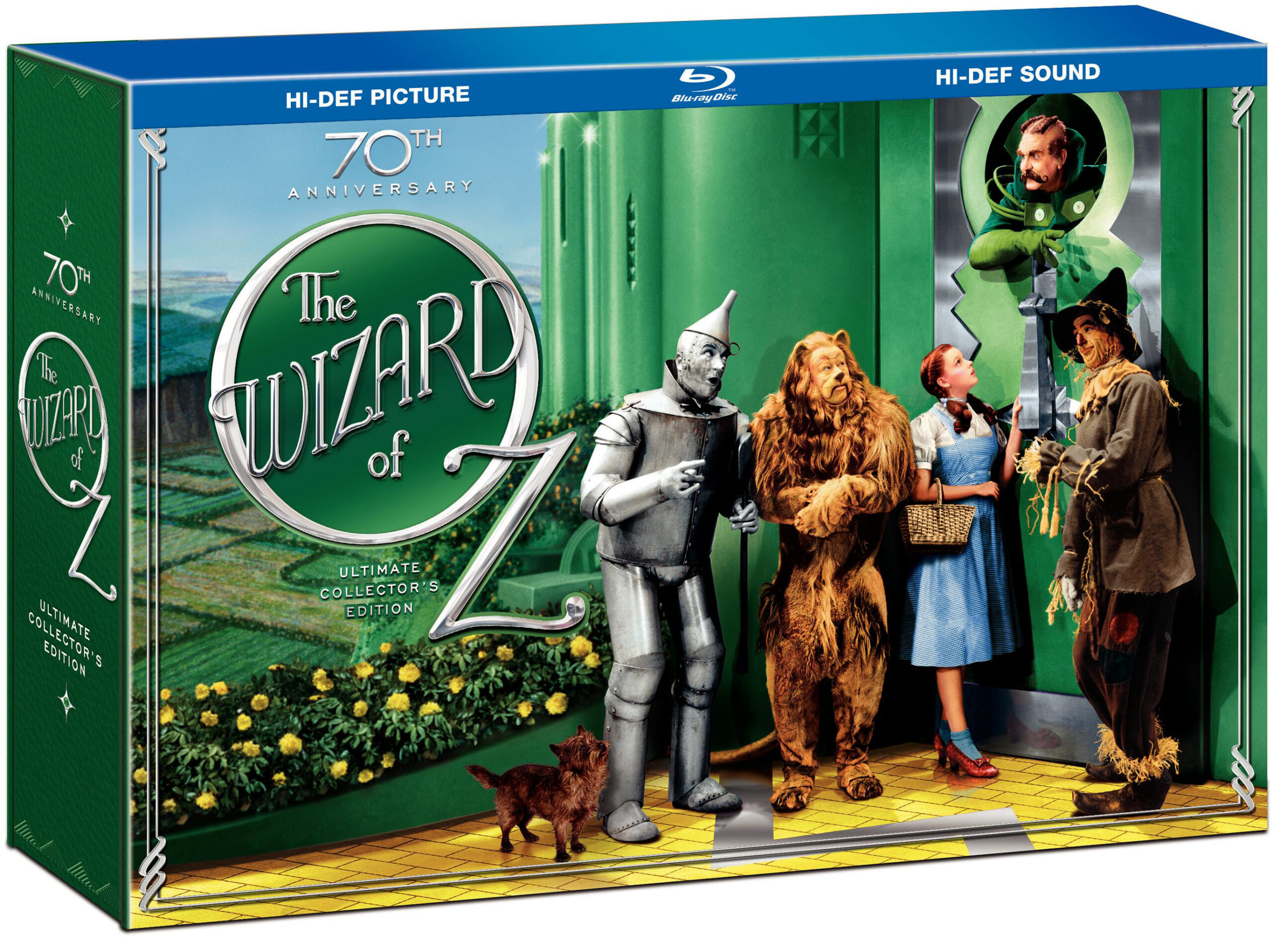 The Wizard of Oz 70th Anniversary Blu-ray Boxed Set