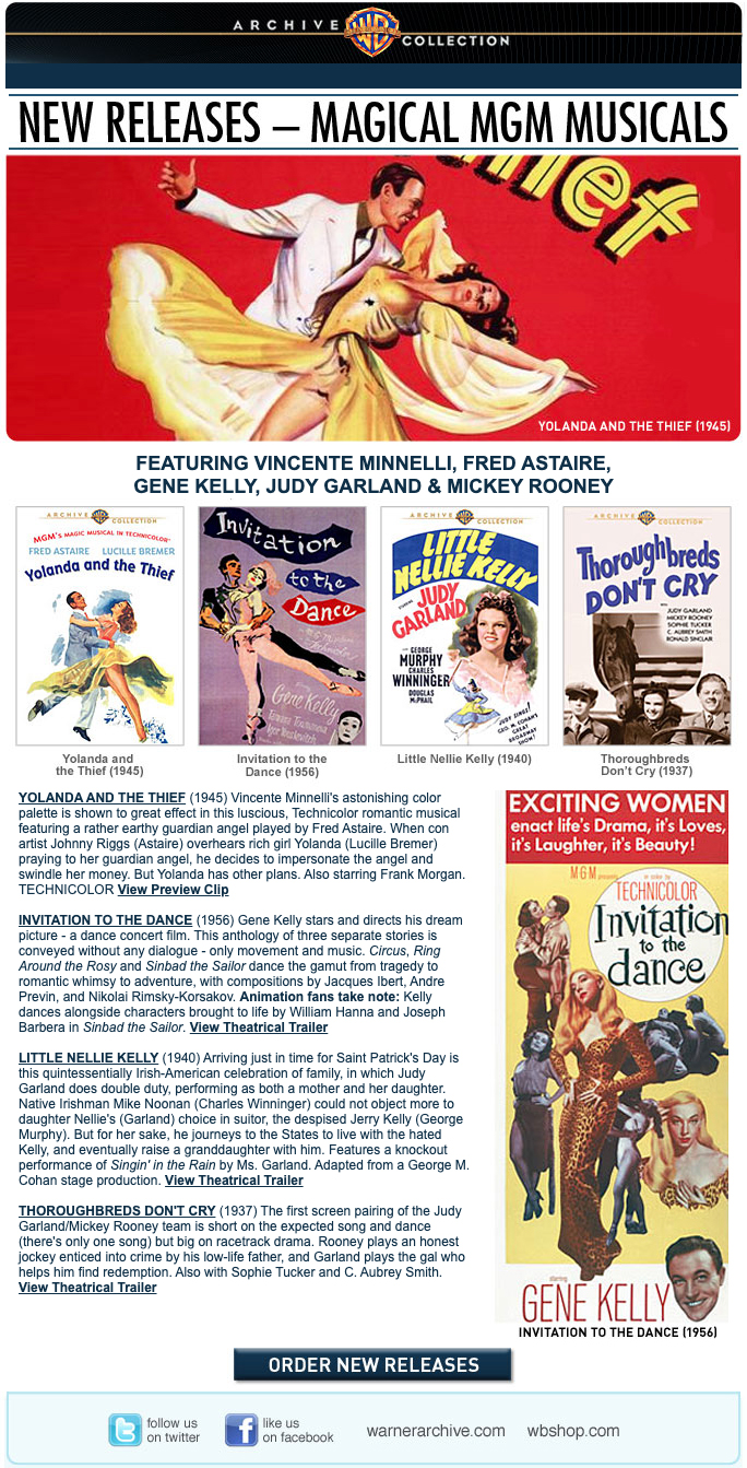 2011 Warner Archive Email