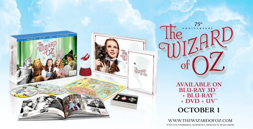 The Wizard of Oz 75th anniversary boxed set ad