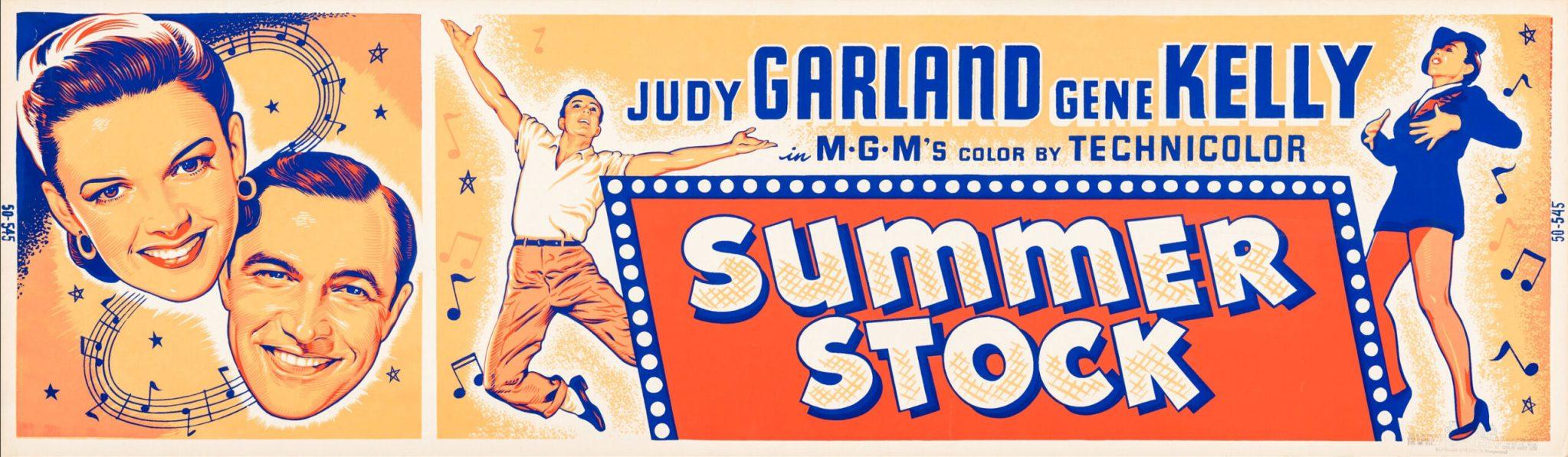 """Summer Stock"" 1950 Banner Poster Art"