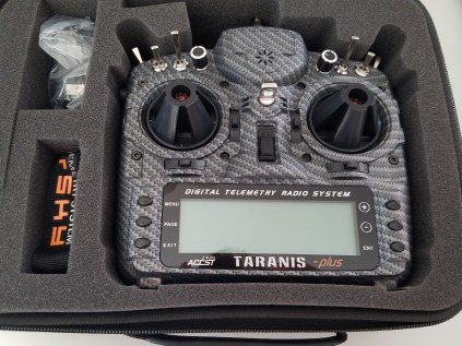 Taranis X9D Plus Special Edition in case
