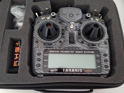 Taranis X9D Plus Special Edition in case