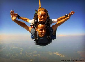 Tandem Skydiving, Tandem Skydive Pricing, The Jumping Place Tandem Skydiving
