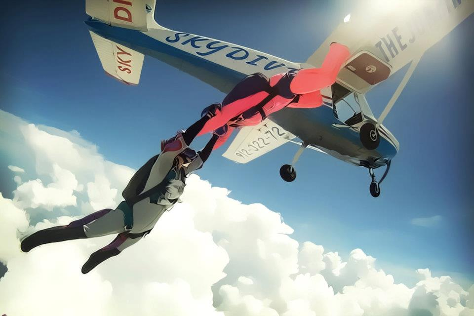 Learn To Skydive Uspa A License Course Cost Gold Package 25 Jumps